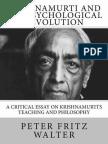 Krishnamurti and the Psychological Revolution