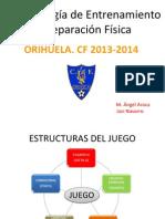 Metodologia entrenamiento equipo 3ª división.