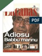Scherma Medioevale e Rievocazione Storica (in Sardegna) Lacanas n° 55