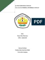 Review Bahasa tentang Catatan Perihal Pendidikan Tinggi