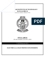 5 6sem BE EEE Syllabus 2013-14