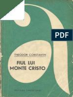 Theodor Constantin Fiul Lui Monte Cristo