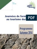Formation2014 Tourisme Parc National Port Cros