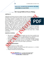 Dealing With Concept Drifts in Process Mining - IEEE Project 2014-2015