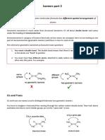 Isomers Part 2 (geometric) Edexcel