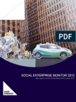 Social Enterprise Monitor
