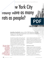 Does New York City really have as many rats as people?