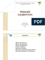 Pressure Instruments Calibration
