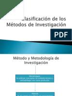 Clasificación de Los Métodos de Investigacion ( Eduardo, Pedro, Cesar)