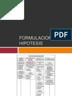 Formulación de Hipotesis