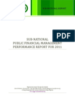 Nigeria Subnational Public Financial Management Report