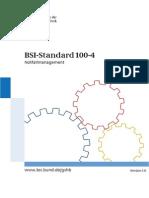 BSI Standard 1004 - IT Grundschutz