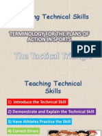 technical and tactical skill