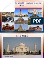 Top 10 World Heritage Sites in India You Don't Know