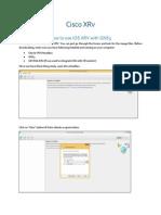 Cisco XRv Integration Complete Guide