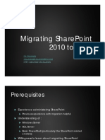 Migrating SharePoint 2013