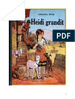 Johanna Spyri Heidi Heidi Grandit