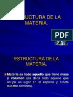 Pres 1 Estructura de La Materia