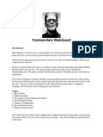 frankenstein webquest