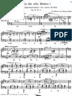 Schutt-Dvorak - Mutter Op.55 No.4