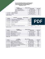 Cronograma Del i Parcial 2014-III