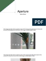 Aperture Powerpoint