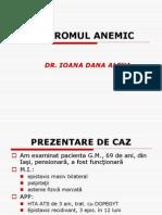 Sindromul Anemic