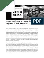 Ajude a Defender Os Rios de Salvador