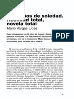 Vargas Llosa Sobre 100 Años de Soledad