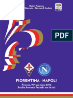 Match Program Fiorentina-Napoli