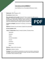 Ficha Tecnica - Minimult