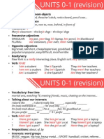 1 ESO - Units 0-1 Revision