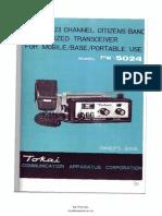 Cb Tokai Pw-5024 User Ik8tea