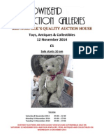 Teddy Catalogue - Toy Sale 12-11-14