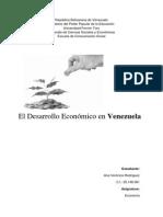 Ensayo sobre el desarrollo económico en Venezuela.docx