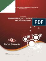 4 - Administração Do Tempo e a Produtividade - Ok