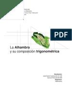 Analisis Trigonometrico de La Alhambra