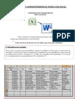 Combinar Correspondencia Word Con Excel Funedu