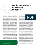 6 Sigma Em Controle de Contaminação