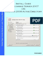Install Guide MS Exchange Server 2007 on Windows Server 2008 Active Directory v1.1