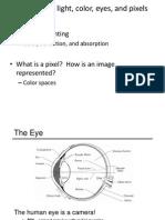 03 - Light, Color, Eyes, And Pixels