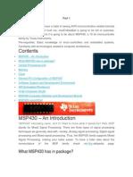 Intro a Msp430