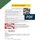 Cálculo o Medición de La Probabilidad