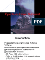 Pyroclastic Flows- Subaerial