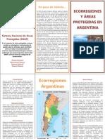 Ecoregiones y Áreas Protegidas