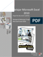 Tugas Fungsi Fungsi Menu Toolbar Ms Excel 2010