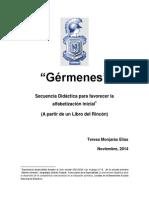 Secuencia Didáctica Gérmenes NOV2014