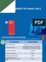 Conferencia+Nacional+Resultados+III+Medio+SIMCE+Ingles+2012vf