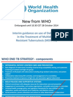 What's New in WHO Policy Guidance (Part II)