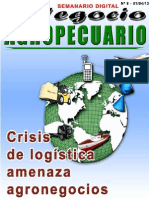 NEGOCIO AGROPECUARIO - N 8 - 01 04 13 - PARAGUAY - PORTALGUARANI